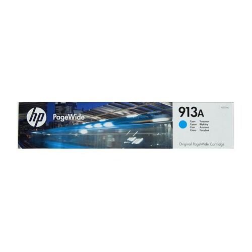 Tintenpatrone 913A für HP PageWide Pro 552dw 37ml cyan HP F6T77AE Produktbild Front View L