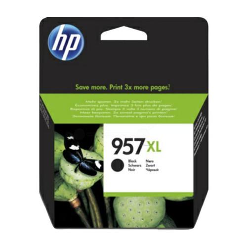 Tintenpatrone 957XL für HP OfficeJet Pro 8210/8700 63,5ml schwarz HP L0R40AE Produktbild Front View L