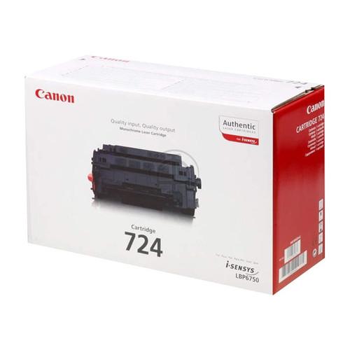 Toner 724 für LBP-3580/LBP-6750 6000Seiten schwarz Canon 3481B002 Produktbild Front View L