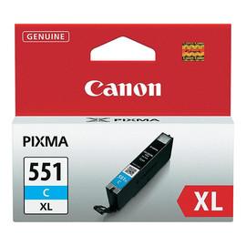 Tintenpatrone CLI-551CXL für Canon Pixma JP7250/MG5450 11ml cyan Canon 6444b001 Produktbild