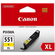 Tintenpatrone CLI-551YXL für Canon Pixma JP7250/MG5450 11ml yellow Canon 6446B001 Produktbild Additional View 1 S