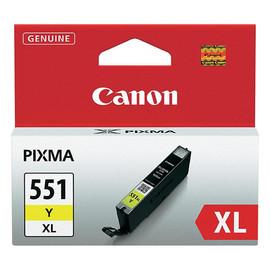 Tintenpatrone CLI-551YXL für Canon Pixma JP7250/MG5450 11ml yellow Canon 6446B001 Produktbild