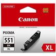 Tintenpatrone CLI-551BKXL für Canon Pixma JP7250/MG5450 11ml FOTOschwarz Canon 6443b001 Produktbild Additional View 1 S