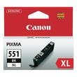 Tintenpatrone CLI-551BKXL für Canon Pixma JP7250/MG5450 11ml FOTOschwarz Canon 6443b001 Produktbild