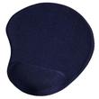 Mousepad für optische und Laser Mäuse ergonomisch Mini blau Hama 00054778 Produktbild
