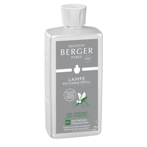Raumduft Parfums Anti Moustique / Anti Mosquito 500ml Lampe Berger 115066 (FL=0,5 LITER) Produktbild Front View L