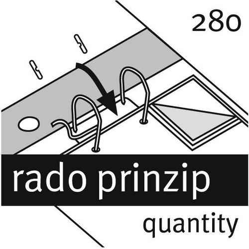 Ordner Rado Brillant A4 50mm grün Pappe Elba 100022607 Produktbild Additional View 2 L