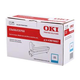 Trommel für Oki C5650/C5750 20000 Seiten cyan OKI 43870007 Produktbild