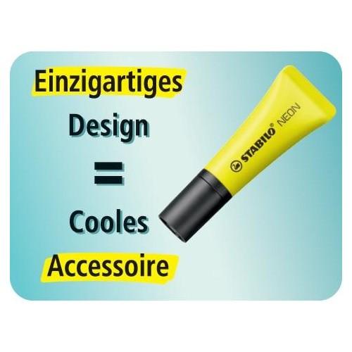 Textmarker Stabilo Neon 72 2-5mm gelb Stabilo 72/24 Produktbild Additional View 6 L