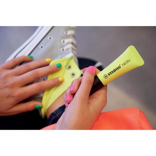 Textmarker Stabilo Neon 72 2-5mm gelb Stabilo 72/24 Produktbild Additional View 2 L