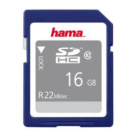 SDHC Memory Card Class10 16GB Hama 00104367 Produktbild