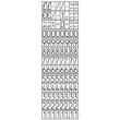 Auszeichnungsmaschine für 26x12mm 1-zeilig Modell 2012 Zweckform PL1/8 Produktbild