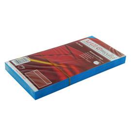 Briefumschlag ohne Fenster 114x229mm mit Haftklebung 120g dunkelblau (PACK=25 STÜCK) Produktbild