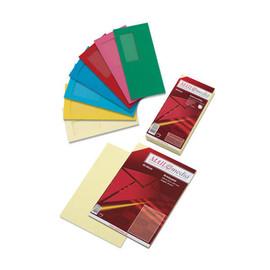 Briefumschlag ohne Fenster 114x229mm mit Haftklebung 120g gelb (PACK=25 STÜCK) Produktbild
