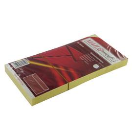 Briefumschlag ohne Fenster 114x229mm mit Haftklebung 120g hellgelb (PACK=25 STÜCK) Produktbild