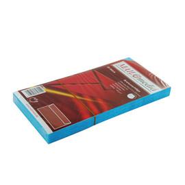 Briefumschlag ohne Fenster 114x229mm mit Haftklebung 120g hellblau (PACK=25 STÜCK) Produktbild