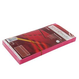 Briefumschlag ohne Fenster 114x229mm mit Haftklebung 120g pink (PACK=25 STÜCK) Produktbild