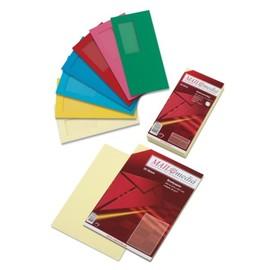 Briefumschlag mit Fenster 114x229mm mit Haftklebung 120g gelb (PACK=25 STÜCK) Produktbild