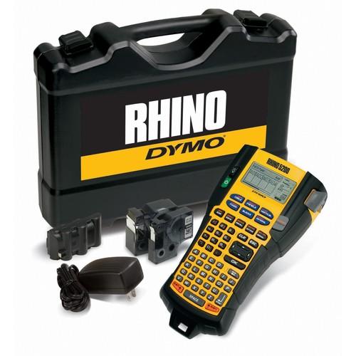 Beschriftungsgerät Rhino 5200 inkl.Akku, Koffer,Netzteil,2 Schriftb. Dymo S0841400 Produktbild Front View L