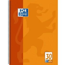 Collegeblock Oxford 4-fach Lochung A4 blanko 80Blatt 90g Optik Paper weiß orange 100050359 Produktbild