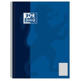 Collegeblock Oxford 6-fach Lochung A5 kariert mit Rand 80Blatt 90g Optik Paper weiß 100050393 Produktbild