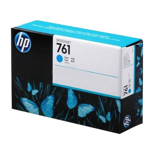 Tintenpatrone 761 für HP DesignJet T7100 400ml cyan HP CM994A Produktbild Front View L
