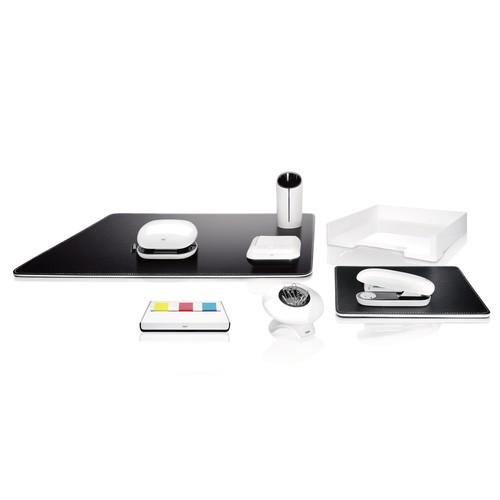 Briefablage eyestyle A4 268x50x333mm weiß High-Gloss ABS Kunststoff Sigel SA107 Produktbild Additional View 5 L