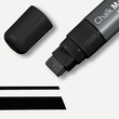 Kreidemarker 150 artverum 5-15mm Keilspitze abwischbar schwarz Sigel GL170 Produktbild Additional View 1 S