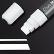 Kreidemarker 150 artverum 5-15mm Keilspitze abwischbar weiß Sigel GL171 Produktbild Additional View 1 S