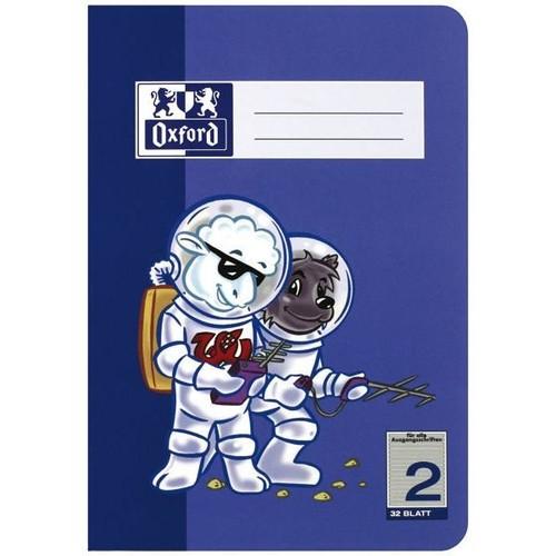 Heft Oxford Junior A4 Lineatur 2 32Blatt 90g Optik Paper 100050323 Produktbild Additional View 1 L