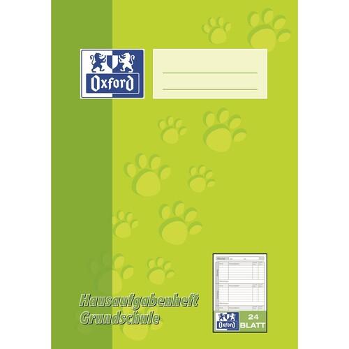 Hausaufgabenheft Oxford für 1.-4. Klasse A5 24Blatt 90g Optik Paper weiß 100057952 Produktbild Front View L