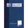 Aufgabenheft Oxford A6 48Blatt 90g Optik Paper weiß 100057949 Produktbild