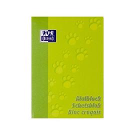 Malblock Oxford A4 100Blatt 90g hellgrün Optik Paper 100050303 Produktbild
