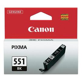 Tintenpatrone CLI-551BK für Canon Pixma JP7250/MG5450 7ml FOTOschwarz Canon 6508B001 Produktbild