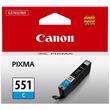 Tintenpatrone CLI-551C für Canon Pixma JP7250/MG5450 7ml cyan Canon 6509b001 Produktbild Additional View 1 S