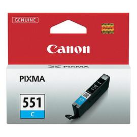 Tintenpatrone CLI-551C für Canon Pixma JP7250/MG5450 7ml cyan Canon 6509b001 Produktbild