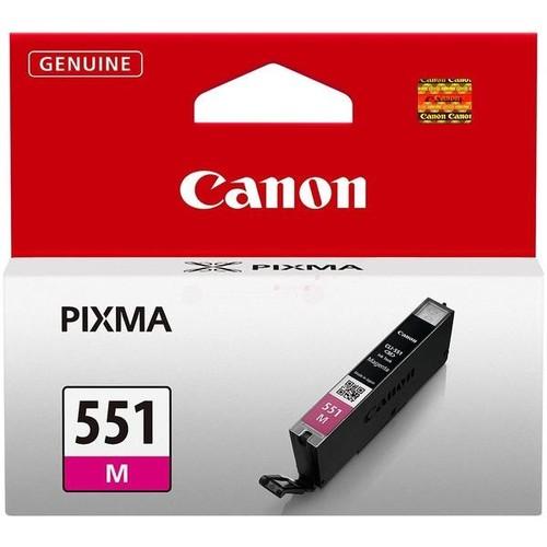 Tintenpatrone CLI-551M für Canon Pixma JP7250/MG5450 7ml magenta Canon 6510b001 Produktbild Additional View 1 L