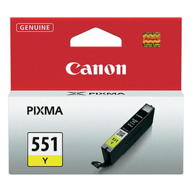 Tintenpatrone CLI-551Y für Canon Pixma JP7250/MG5450 7ml yellow Canon 6511B001 Produktbild
