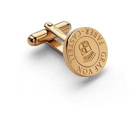 Manschettenknöpfe GvFC rund vergoldet Faber Castell 118971 Produktbild