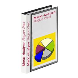 Sichtbuch mit 40 Hüllen A5 schwarz FolderSys 25026-30 Produktbild