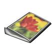 Sichtbuch mit 100 Hüllen A4 schwarz FolderSys 25819-30 Produktbild
