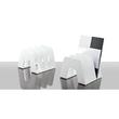 Prospektständer SORTER mit 3 Fächer 209x224x163mm weiß HAN 16200-12 Produktbild Additional View 1 S