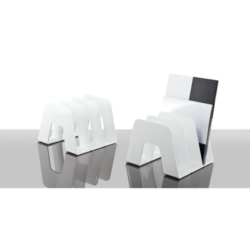 Prospektständer SORTER mit 3 Fächer 209x224x163mm weiß HAN 16200-12 Produktbild Additional View 1 L