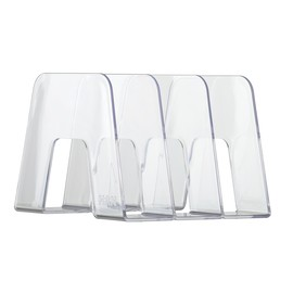 Prospektständer SORTER mit 3 Fächer 209x224x163mm glasklar HAN 16200-23 Produktbild
