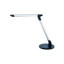 Arbeitsplatzleuchte LED flexibel einstellbar silber-schwarz Alco 9157 Produktbild