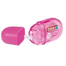 Korrekturroller Mini ecoLogo pink 5mm x 6m Tesa 59815-00000-00 (ST=6 METER) Produktbild