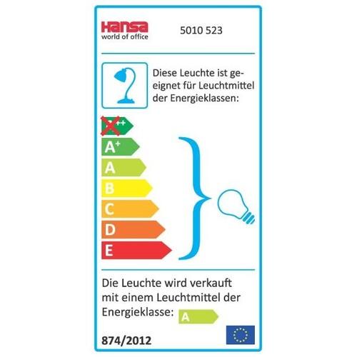Tischleuchte Energystar silber Hansa h5010523 Produktbild Additional View 4 L