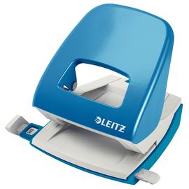 Locher NeXXt 5008 bis 30Blatt hellblau Metall Leitz 5008-00-30 Produktbild