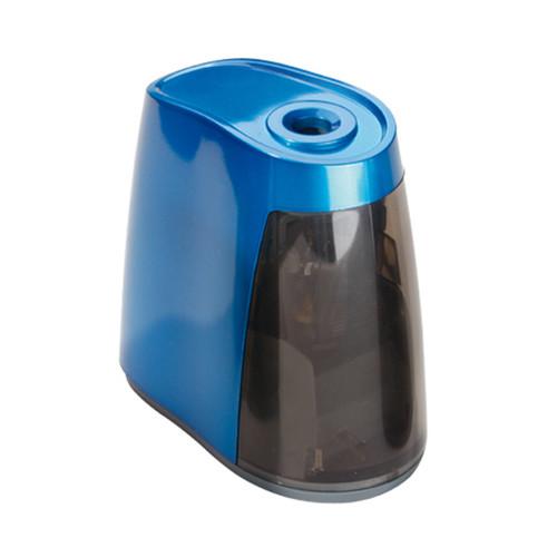 Spitzmaschine elektrisch für Stifte bis 8mm blau Kunststoffgehäuse mit Kunststofffräser Dahle 240 Produktbild Front View L