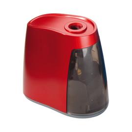 Spitzmaschine elektrisch für Stifte bis 8mm rot Kunststoffgehäuse mit Kunststofffräser Dahle 240 Produktbild